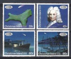 Christmas Island  Yv 215/18 Comète Halley ** Mnh - Christmas Island