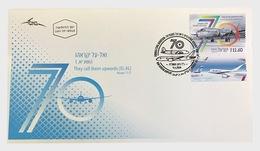 Israel - Postfris / MNH - FDC 70 Jaar Luchtvaart 2018 - Israël