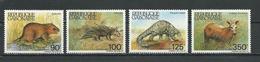 GABON  Scott 581-584 Yvert 586-589 ** (4) Cote 10,80  $ 1985 - Gabon (1960-...)
