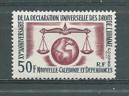 NOUVELLE-CALEDONIE - Yvert  N° 313 **  Déclaration Universelle Des Droits De L'homme - Nouvelle-Calédonie