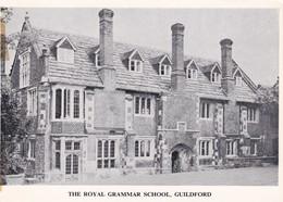 GUILDFORD - THE ROYAL GRAMMAR SCHOOL. - Surrey