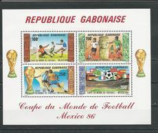 GABON  Scott C281a Yvert BF50 ** (bloc) Cote 10  $ 1986 - Gabon (1960-...)