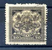 1922 LETTONIA N.91 USATO - Lettonia