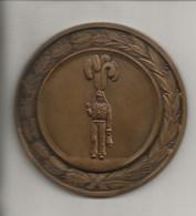 Ville De Charleroi-Carnaval D'hiver(gilles)-26 Février 1963-Médaille Bronze , 70 Mm De Diamétre ,170gr. - Carnaval