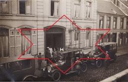 CP Photo Avril 1915 QUESNOY-SUR-DEULE - Pensionnat Saint-Joseph-de-Cluny Transformé En Hôpital Militaire (A201, Ww1) - Autres Communes