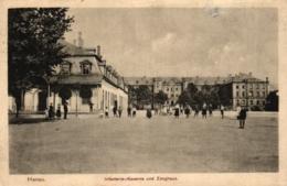 Hanau, Infanterie-Kaserne Und Zeughaus, Feldpost 1915 - Hanau