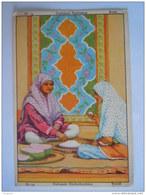 Chromo Chocolat Meurisse Costumes Nationaux Nationale Klederdrachten N° 34 Perzië Perse Form. 8 X 12 Cm - Chocolat