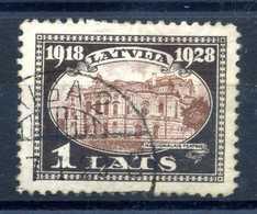 1928 LETTONIA N.142 USATO - Lettonia