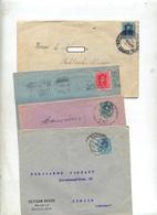 Lot Lettre Affranchie Roi - Machine Stamps (ATM)