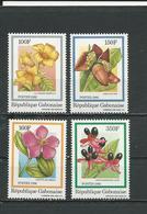 GABON  Scott 601-604 Yvert 604-607 ** (4) Cote 10  $ 1986 - Gabon (1960-...)