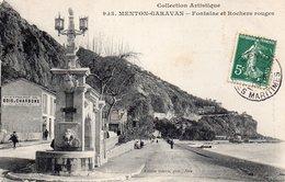 ¤ Menton Garavan - Fontaines Et Rochers Rouges - Menton