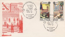 EU170  FDC 1981 EUROPA Italie   TTB - Europa-CEPT