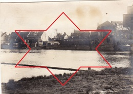 Photo Avril 1915 LES ECLUSES (Deûlémont) - Une Vue (A201, Ww1) - France
