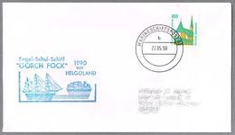 Buque Escuela GORCH FOCK. Marineschiffspost 62, 1990 - Militares