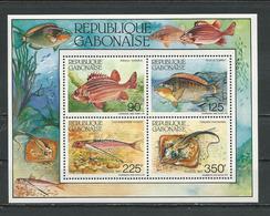 GABON  Scott 613a Yvert BF53 ** (bloc) Cote 13  $ 1987 - Gabon (1960-...)