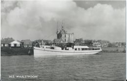 Boot - Boat - Bateau - Ship - Schiff - Veerdienst Enkhuizen - Staveren - M.S. WAALSTROOM - 560 - 1961 - Traghetti