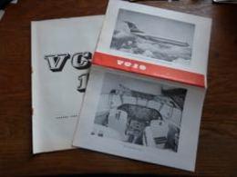 Top Documentation Aviation (en Anglais)  Vickers VC10 Jetliner Vues éclatées , Description - Aviation