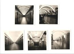 5 Fotos  ORIGINAL Aus Den 50 Jahren   Moskau  Die Metro - Fotos