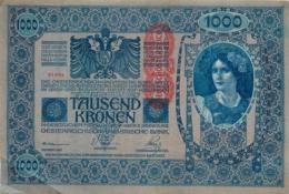 BILLET AUTRICHE 1000 TAUSEN KRONEN - Autriche