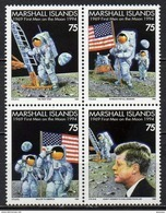 Iles Marshall - 1994 - Yvert N° 527 à 530 ** - Premier Homme Sur La Lune - Marshall