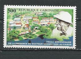 GABON  Scott C289 Yvert PA286 ** (1) Cote 6,50 $ 1988 - Gabon (1960-...)