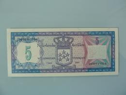CURACAO-5 GULDEN 1984.UNC.NEUF - Antilles Néerlandaises (...-1986)