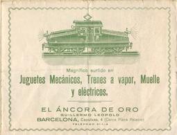 Catalogue EL ANCORA DE ORO -1930s Juguetes Mecànicos,Trenes A Vapor, Muelle Y Eléctricos - En Espagnol - Books And Magazines