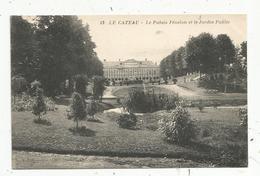 Cp, 59 , LE CATEAU , Le Palais FENELON Et Le Jardin Public , Vierge ,n° 13 - Le Cateau