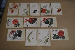Splendide Série D'oeuvres Signés,Pays Chine,série Complète,collector,RARE Superbe état,Chines - Art Asiatique