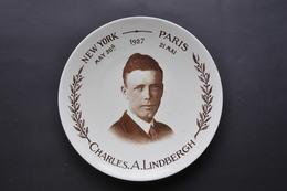 SARREGUEMINES - CHARLES LINDBERGH  NEW YORK / PARIS Les 20-21 MAI 1927 - Sarreguemines (FRA)