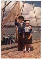 FOLKLORE DE BRETAGNE -  MX.1086 - Edts JOS - Enfants En Costume De Plougastel Daoulas. - Costumes