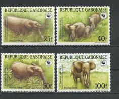 GABON  Scott 634-637 Yvert 640-643 ** (4) Cote 18,75 $ 1988 - Gabon (1960-...)