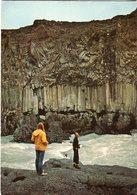 Iceland/Islande/Ijsland/Island Postcard Columnar Basalt At Aldeyjarfoss Unused - Iceland