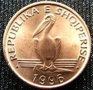 Albania 1 Lek 1996 Pelican Albanie  UNCºº - Albanie