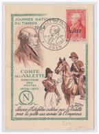 Frankreich Algerien (003758) Maximumkarte 1954, Oran, Tag Der Briefmarke 20.3.1954 - Algerien (1924-1962)
