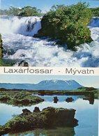 Iceland/Islande/Ijsland/Island Postcard Laxárfossar Mývatn Unused - Iceland