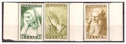 Saarland,   Nr. 365-67,  Postfrisch - 1947-56 Occupazione Alleata
