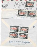 TP N° 366 En 1, 2 Et 4 Exemplaires Sur 3 Enveloppes Pour La France - Algerije (1962-...)
