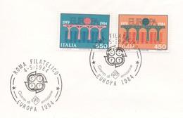 EU191  FDC 1984 EUROPA  Italie  TTB - 1984