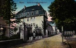 Hanau, Kaserne Des Eisenbahn-Regiments II,  Feldpost 1917 - Hanau