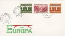 EU192  FDC 1984 EUROPA  Luxembourg  TTB - Europa-CEPT