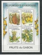 GABON  Scott 668a Yvert BF58 ** (bloc) Cote 8,50 $ 1989 - Gabon (1960-...)