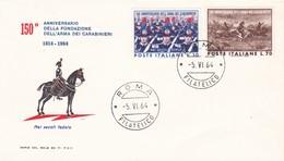 150° ANNIVERSARIO DELLA FONDAZIONE DELL' ARMA DEI CARABINIERI 1964 - 1946-.. République