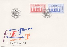 EU195    1984 EUROPA  Suède  TTB - 1984