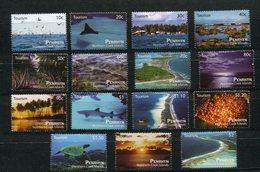 """Penrhyn - Mi.Nr. 647 / 661 - """"Tourismus"""" ** / MNH (aus Dem Jahr 2011) - Penrhyn"""