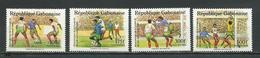 GABON  Scott 672-675 Yvert 674-677 ** (4) Cote 10,50 $ 1989 - Gabon (1960-...)