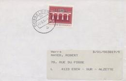 EU199/200  2 Enveloppes 1984 EUROPA  Allemagne  TTB - 1984
