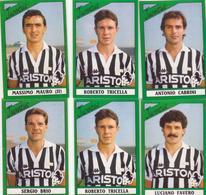 °°° Figurine Calciatori Juventus 1987/88 N. 136-137-138x2-139-143 °°° - Altre Collezioni
