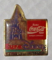 Pin's COCA COLA, EURODISNEY - Coca-Cola