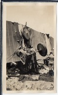 """AVIATION - PHOTO ANCIENNE - AVION  """" BLERIOT """" - CHUTE D' UN BLERIOT A 4 MOTEURS - ANIMATION - Avions"""